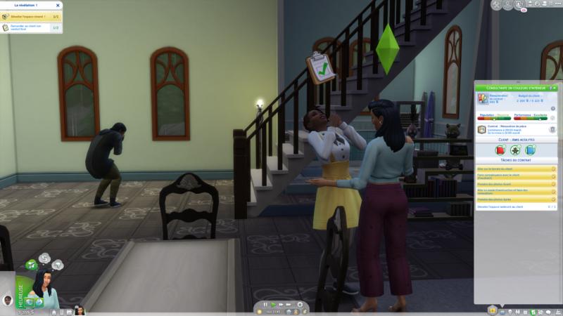 Les Sims 4 Décoration d'intérieur reveal 2
