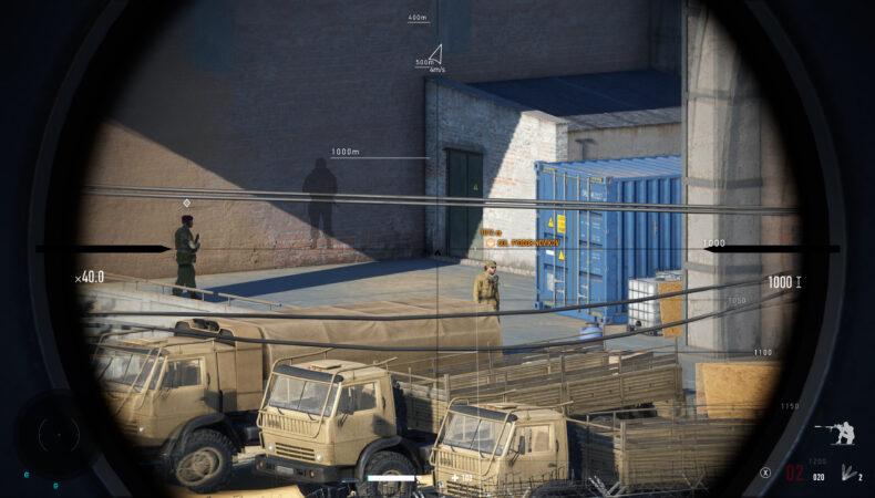 Sniper Ghost Warrior Contracts 2 visée kilomètre