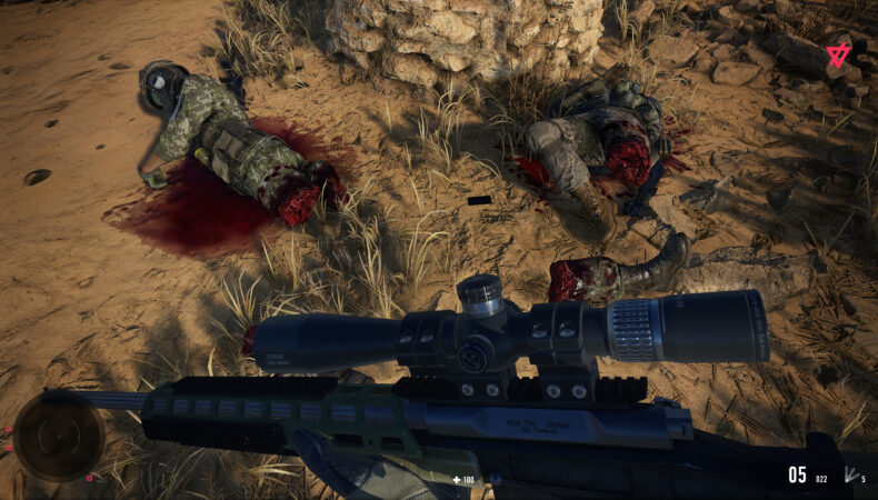 Sniper Ghost Warrior Contracts 2 explosion