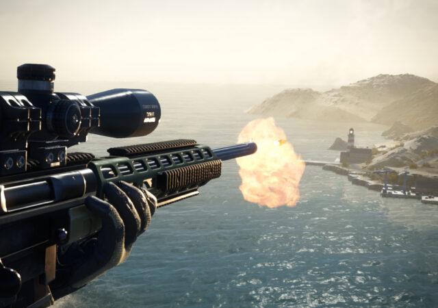 Sniper Ghost Warrior Contracts 2 feu