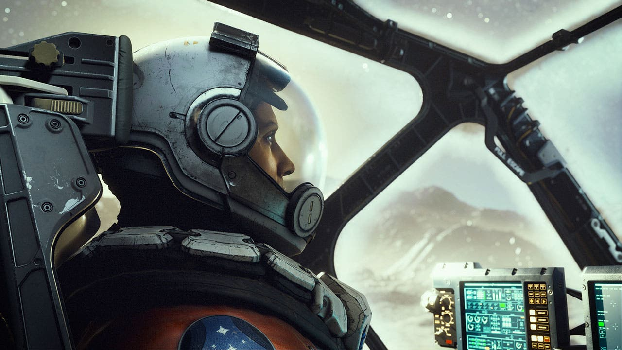 Starfield cockpit
