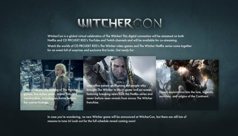 Witchercon annonce