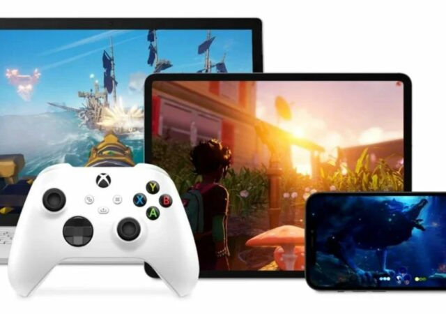 Xbox cloud gaming game pass iOs Pc
