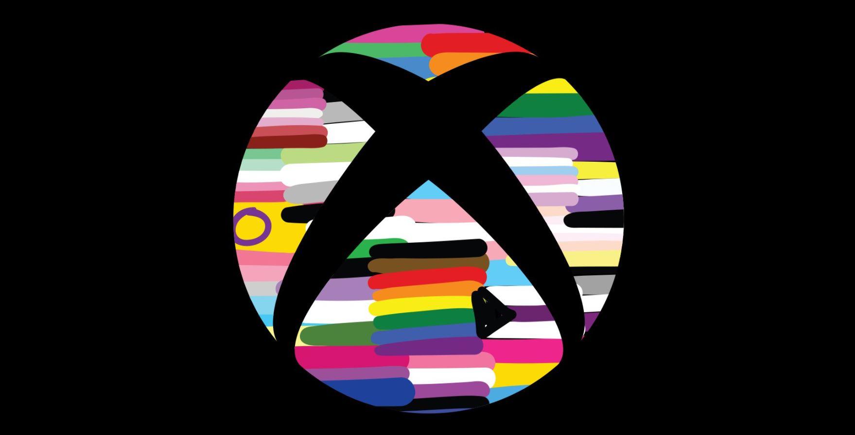 Xbox controller Pride