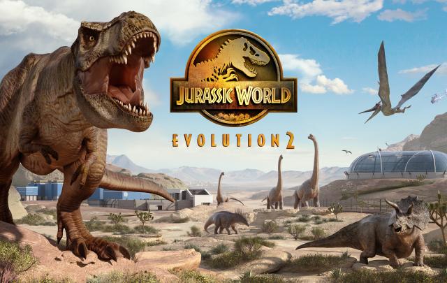 jurassic world evolution 2 logo