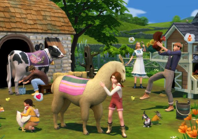 Les Sims 4 Vie à la campagne une ferme