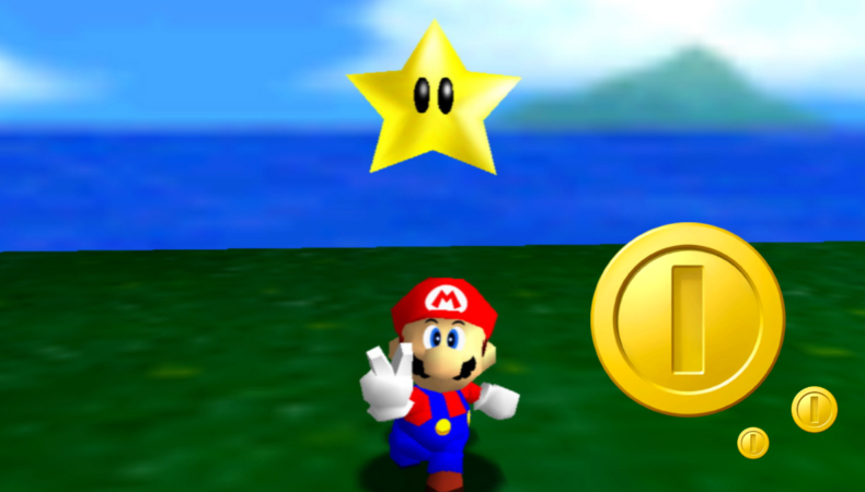 Platformers 3D Mario 64