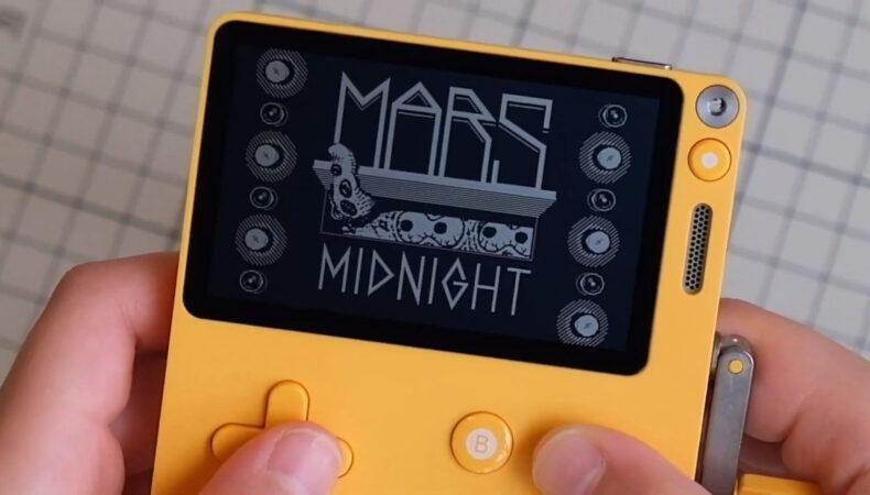 PlayDate Mars after Midnight