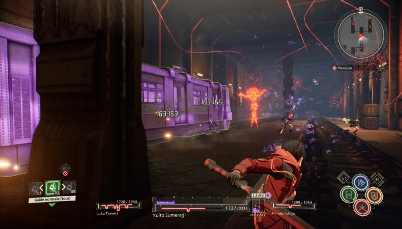 scarlet nexus métro combat