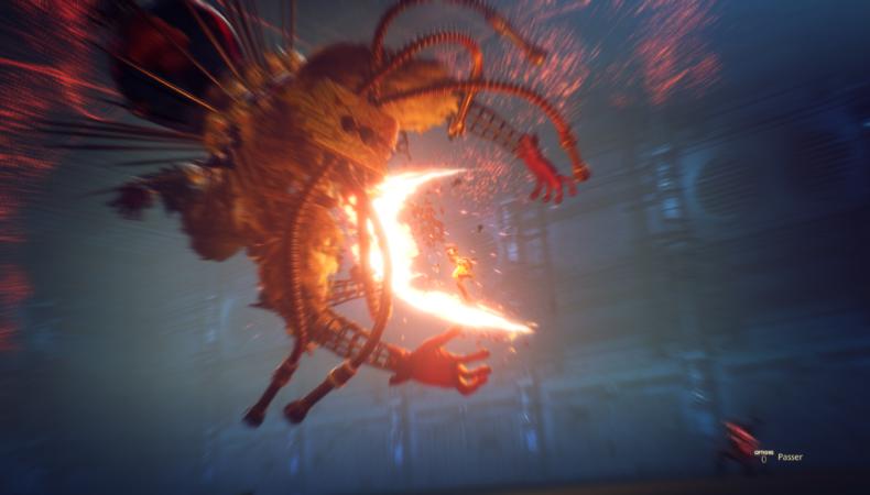 scarlet nexus combat finish