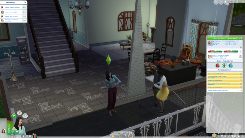 Les Sims 4 Décoration d'intérieur reveal