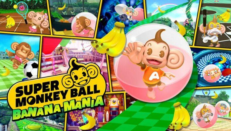 Super Monkey Ball Banania Mania Logo