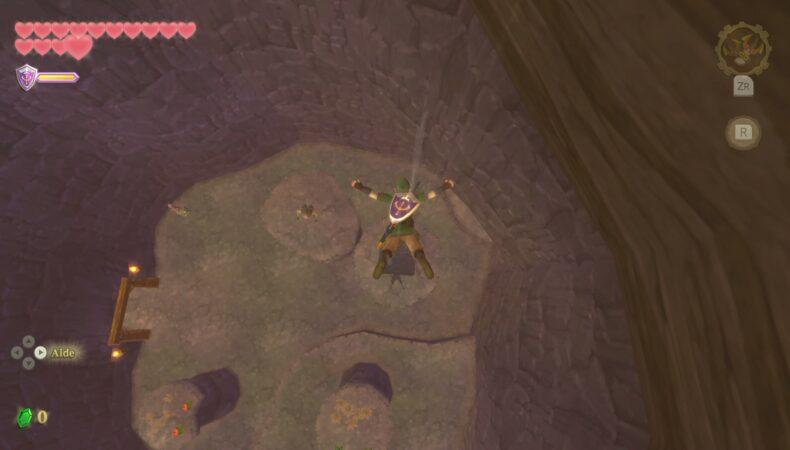 The Legend of Zelda Skyward Sword HD repaire Mogmas