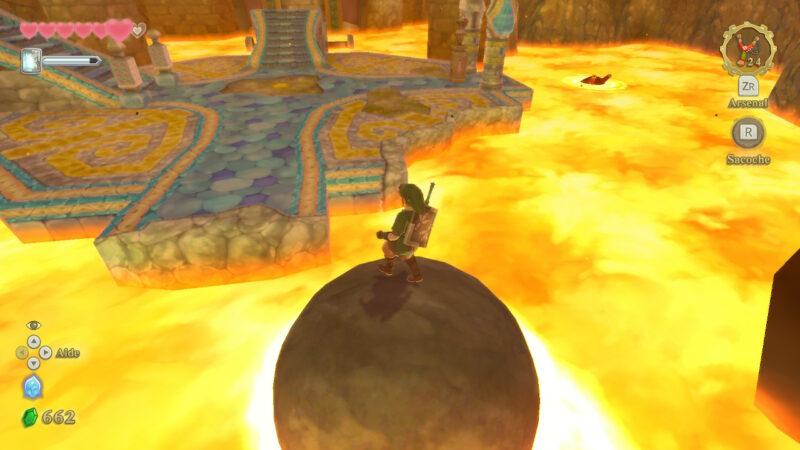 The Legend of Zelda: Skyward Sword HD donjon