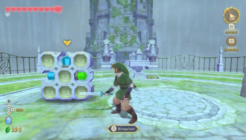 The Legend of Zelda: Skyward Sword HD énigmes