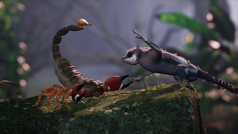 Away: The Survival Series scorpion