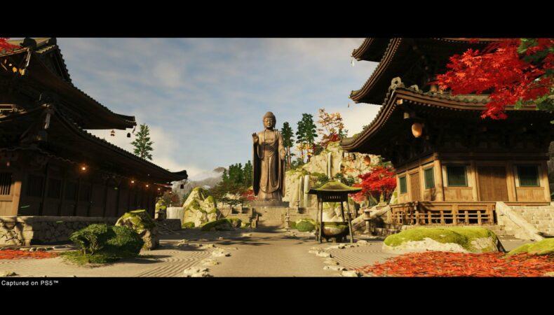 ghost of tsushima iki island dlc temple