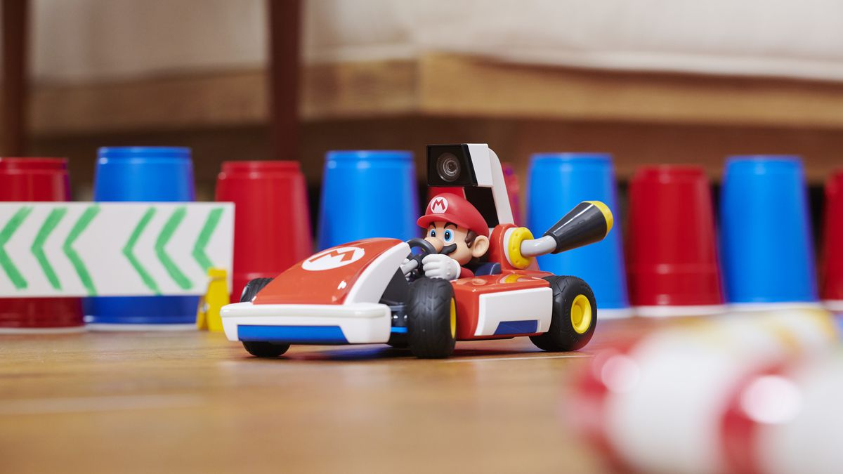 Mario Kart Live: Home Circuit - Mario roule