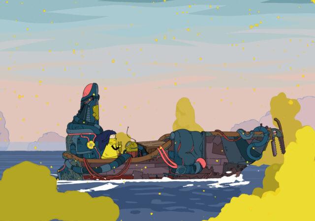 Minute of Island bateau spores