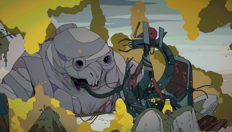 Minute of Island titan mort