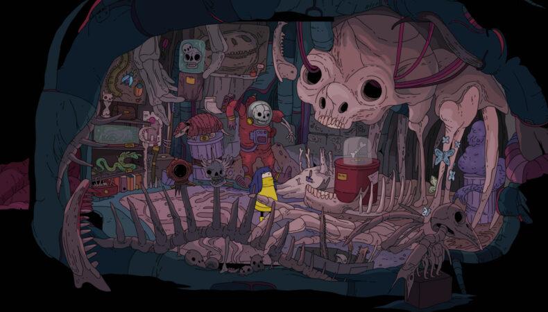 Minute of Island grotte cadavre
