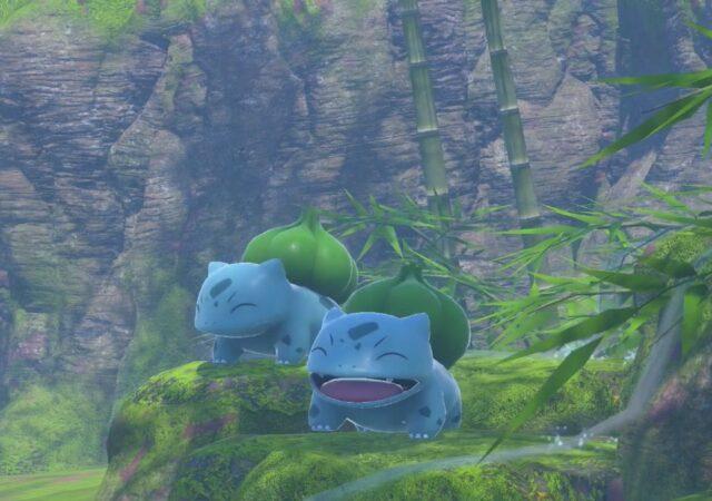 New Pokémon Snap - Bulbizarre