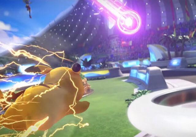 Pokémon Unite - Pikachu en défense