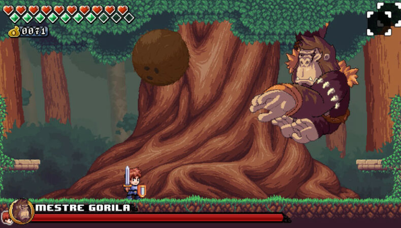 Gameplay du jeu Song for a Hero
