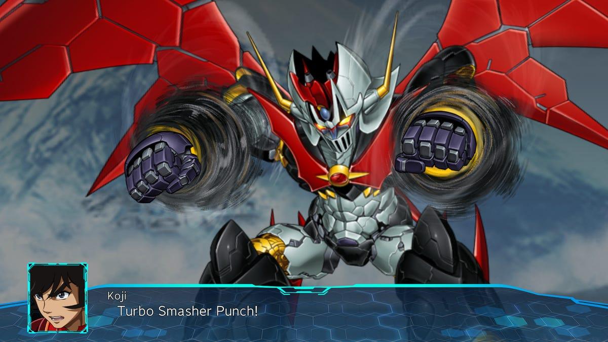 Super Robot Wars 30 mecha