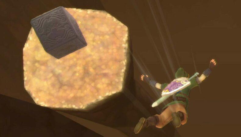 The Legend of Zelda Skyward Sword HD chute