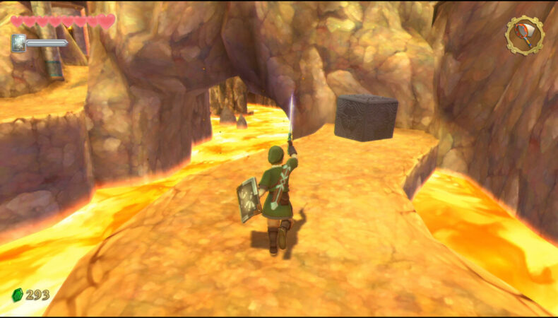 The Legend of Zelda Skyward Sword HD cube volcan odinn