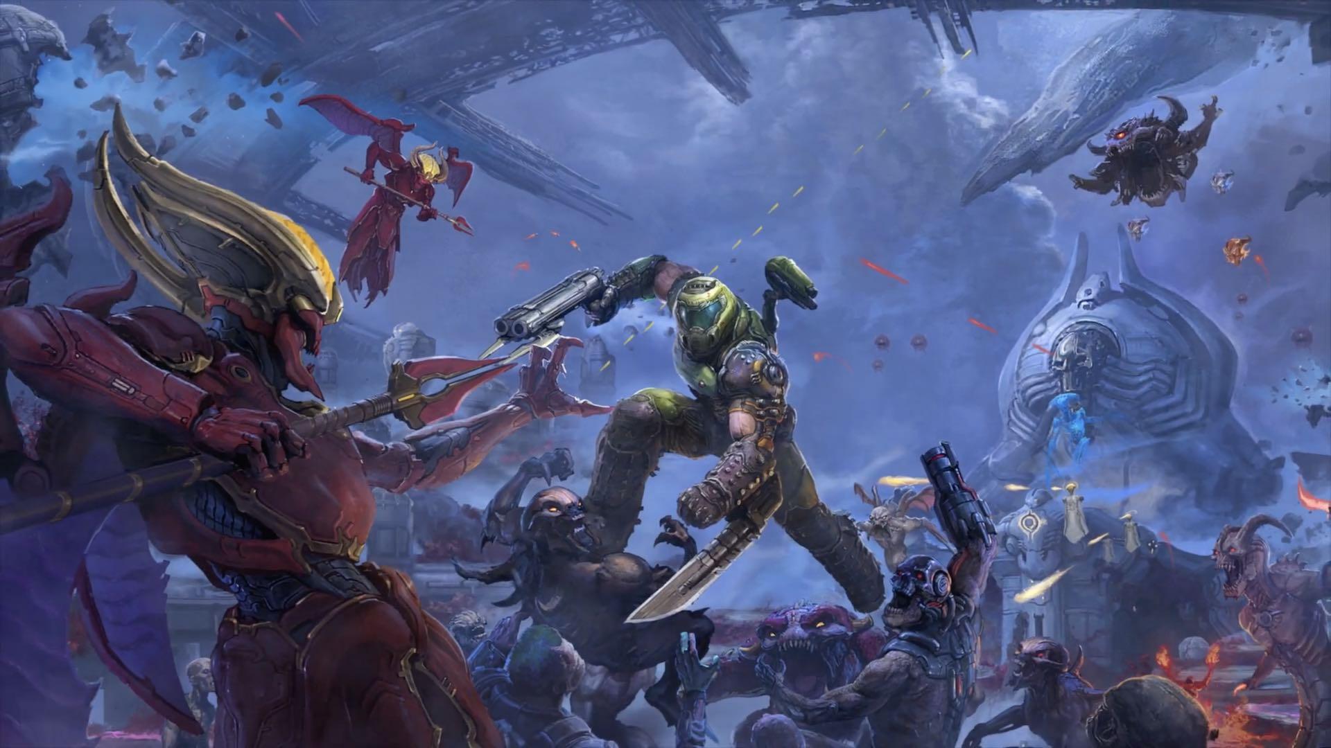 Doom Eternal combat