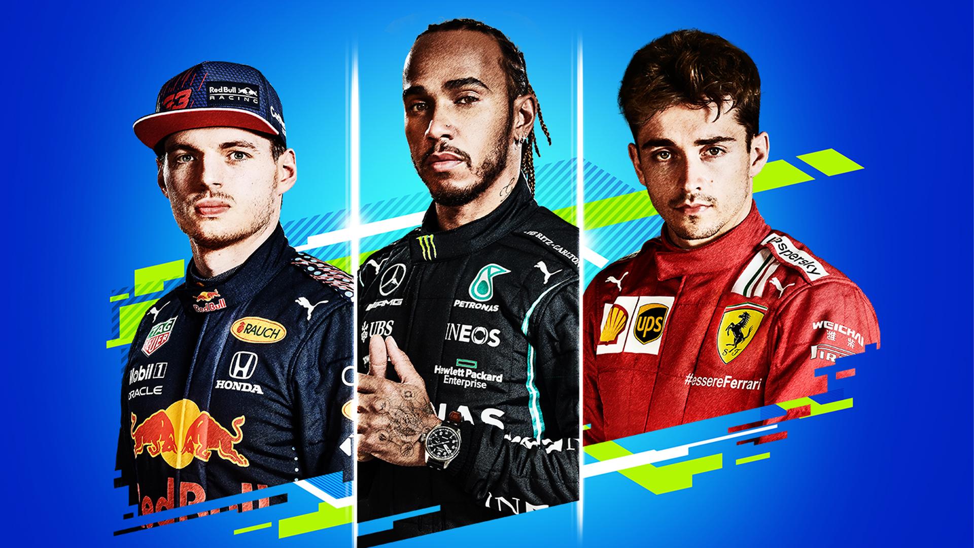 F1 2021 une pilotes