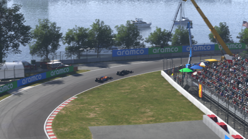 F1 2021 ralenti course