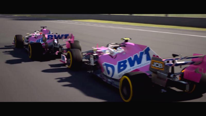 F1 2021 cinématique point de rupture