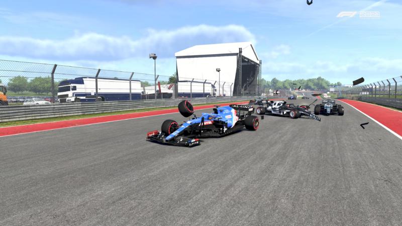 F1 2021 accident