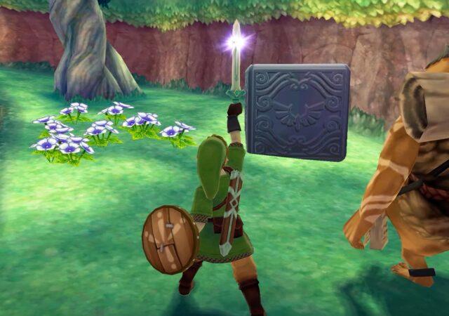 The Legend of Zelda: Skyward Sword HD cube déesse