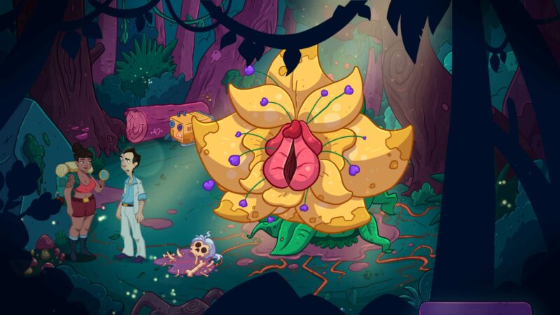 Leisure Sweet Larry: Wet Dreams Don't Dry Twice exploratrice