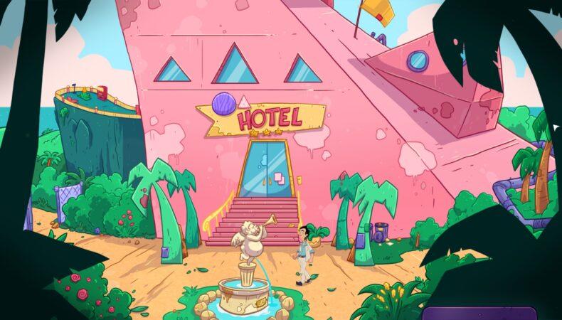 Leisure Sweet Larry: Wet Dreams Don't Dry Twice hotel