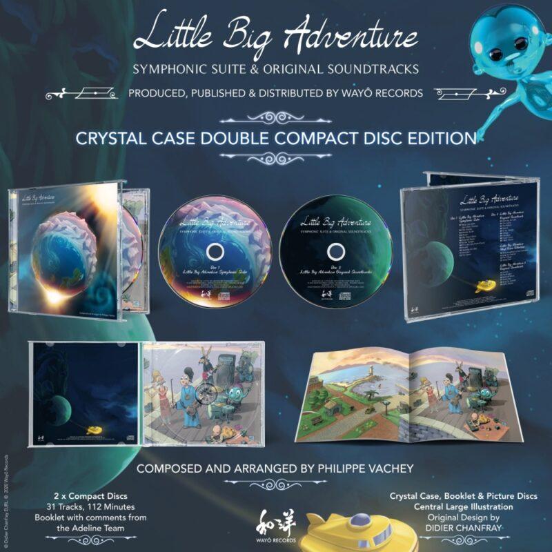 little big adventure symphonic suite & ost - visuel cd