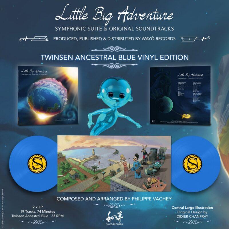 little big adventure symphonic suite & ost - visuel vinyle
