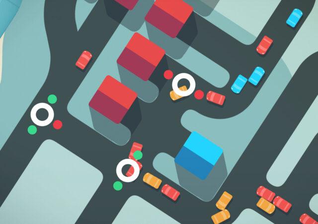 Mini Motorways art une