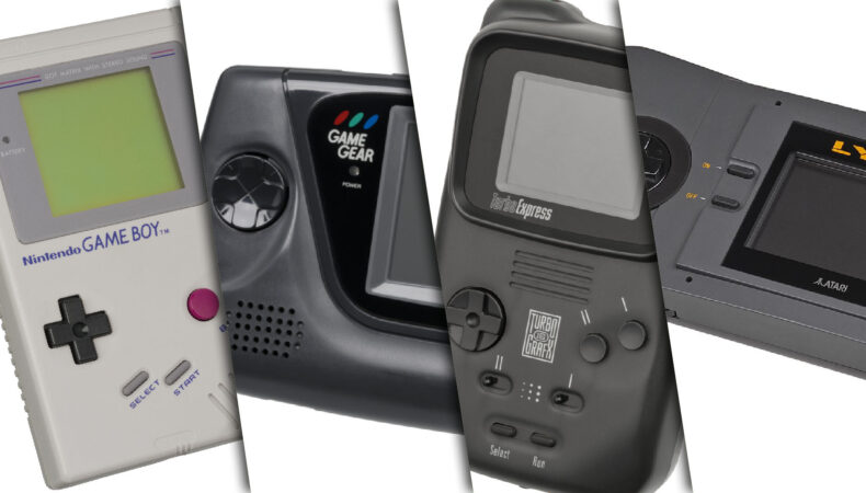 consoles portables 90's