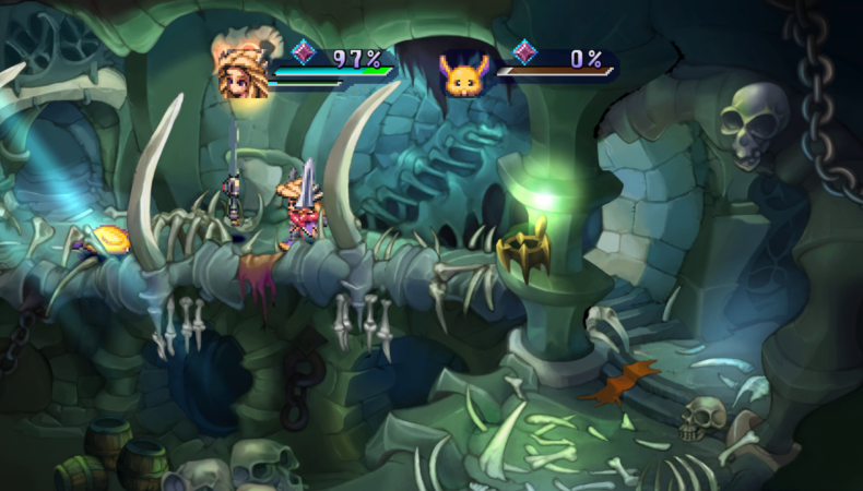 the legend of mana combat 2