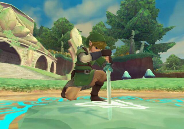 The legend of zelda skyward sword HD epee