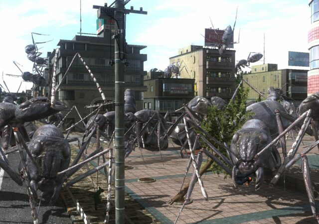 Earth Defense Force 4.1 - Portage Switch