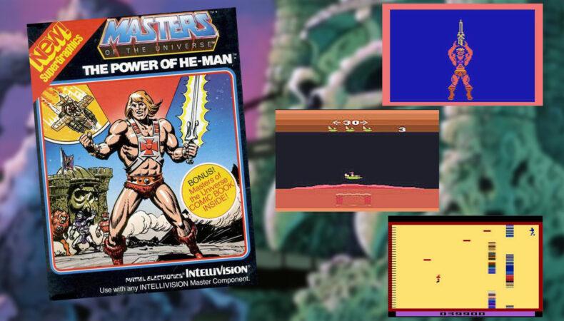 Musclor et les Maitres de l'univers sur Intellivision