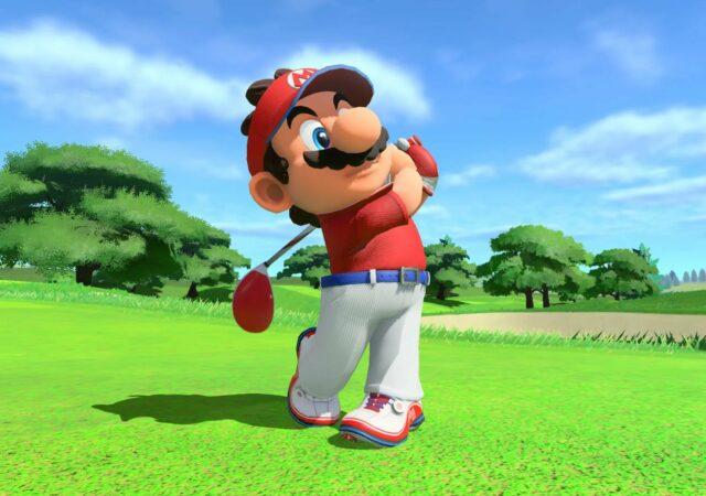 Mario Golf: Super Rush - Mario twist
