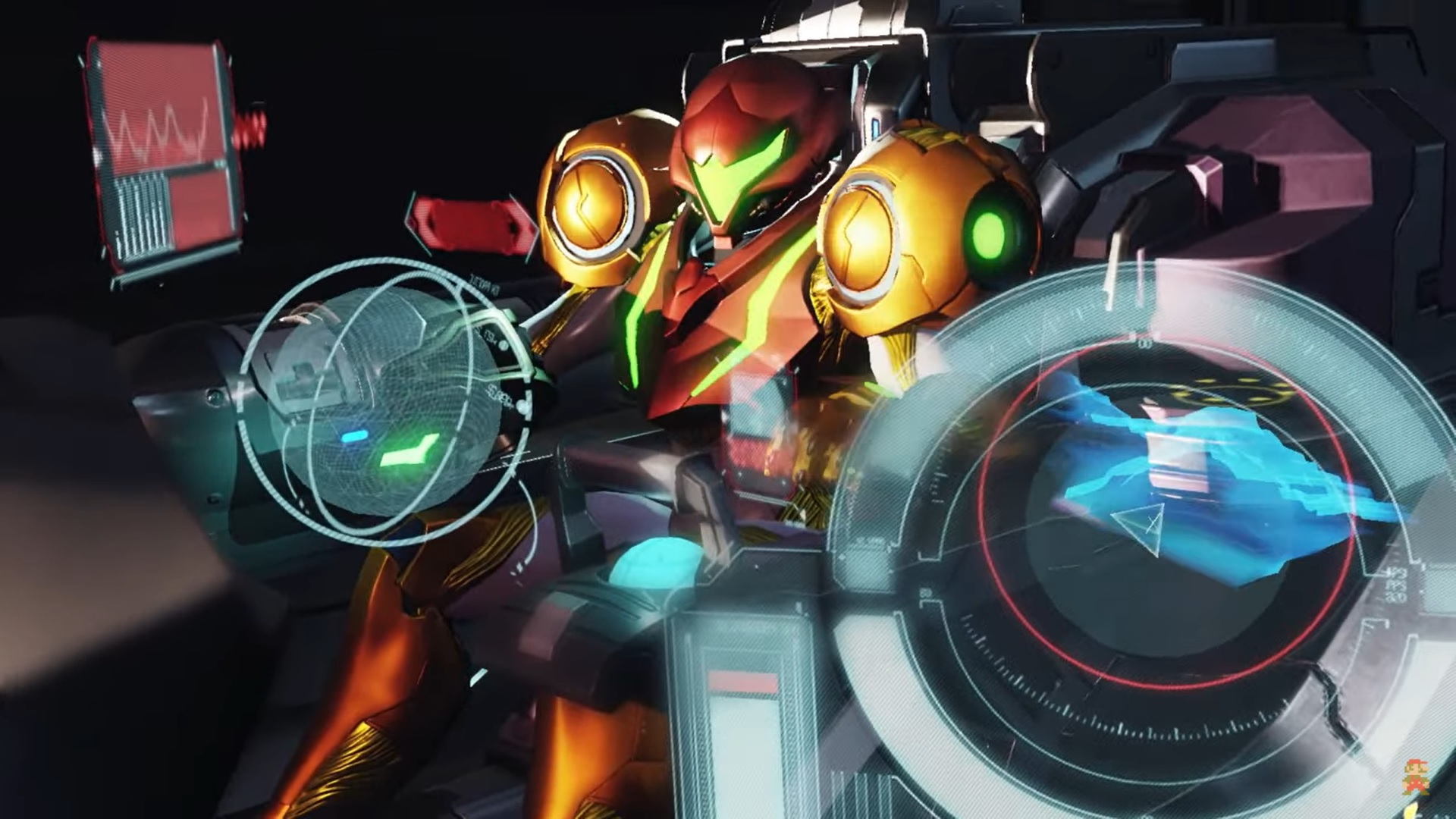 Metroid Dread - Samus commande
