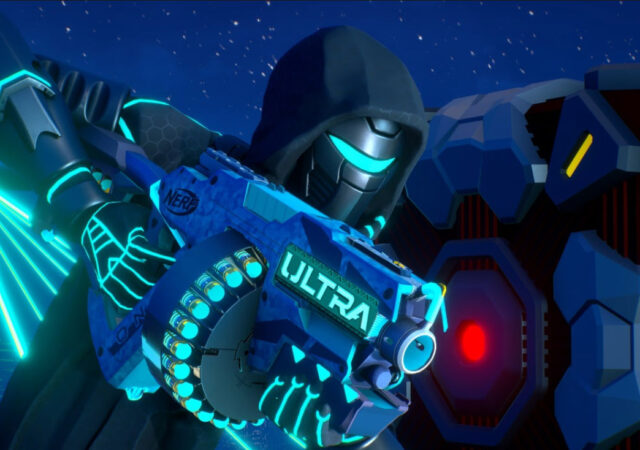 NERF Legends Personnage armé